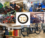 10 jaar Ride Bike